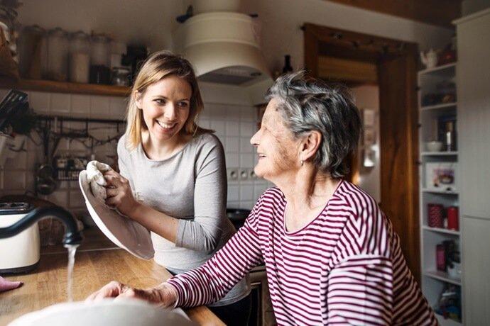 cuidados com os pais idosos