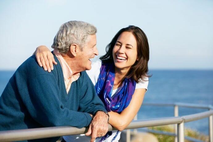 pais idosos paciência