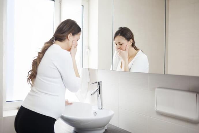 causas da ânsia de vômito ao escovar os dentes