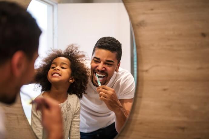 importância de escovar a língua