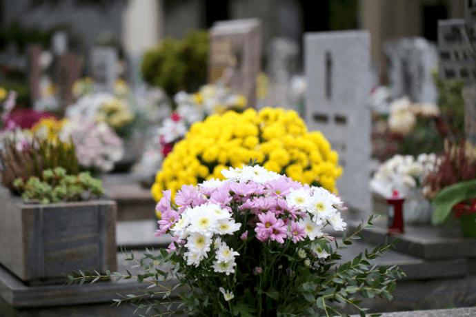 dia de finados celebrado no Brasil