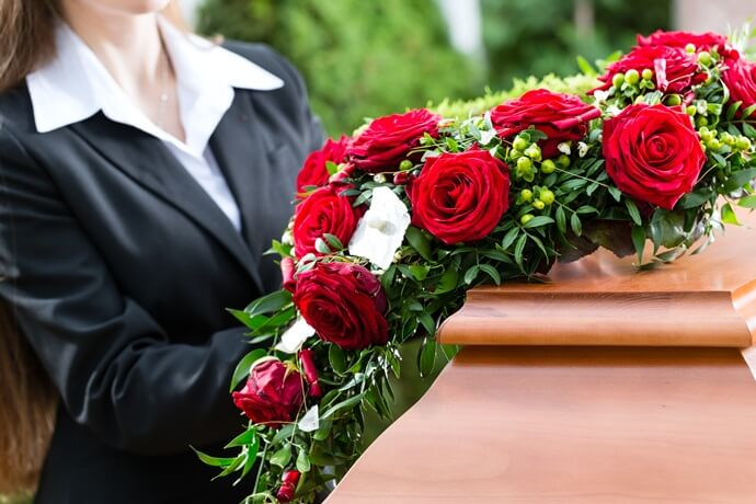 Cobertura de um seguro funeral