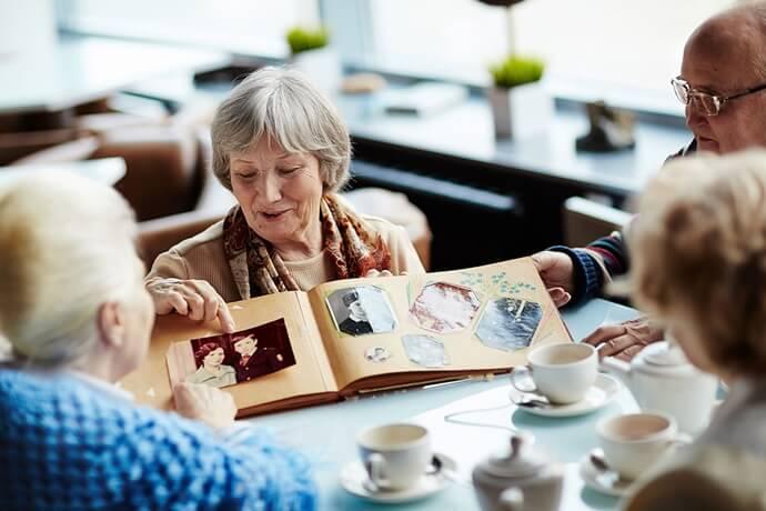 Quando registrar boas memórias de um ente querido?