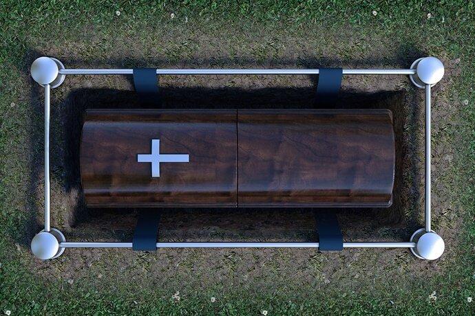 Como é realizado um sepultamento?