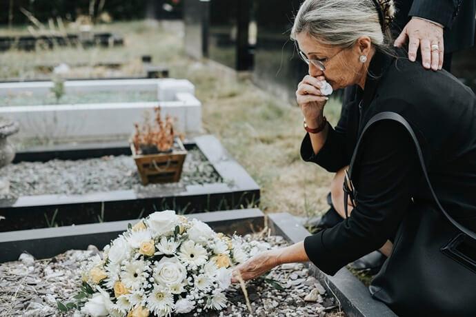 O que é um sepultamento?
