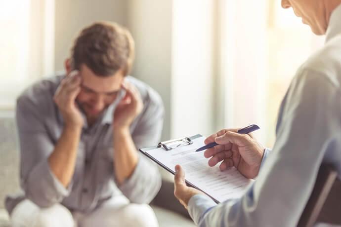 Como é diagnosticada a tanatofobia?