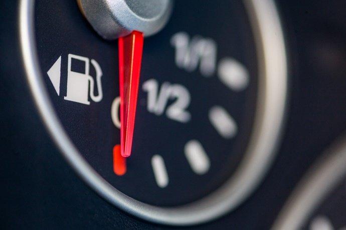 Aumento do consumo de combustível