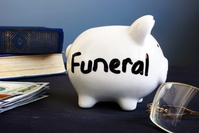 Valor da cobertura do funeral
